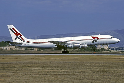 MK Airlines McDonnell Douglas DC-8F-55 Jet Trader 9G-MKE (msn 45753) PMI (Christian Volpati Collection). Image: 943764.