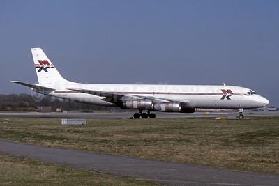 MK Airlines McDonnell Douglas DC-8F-55 Jet Trader 5N-MKE (msn 45753) LGW (SPA). Image: 943760.