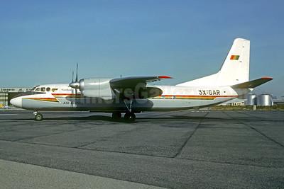 Air Guinée (1st) Antonov An-24B 3X-GAR (msn 67302704) MRS (Jacques Guillem Collection). Image: 950708.