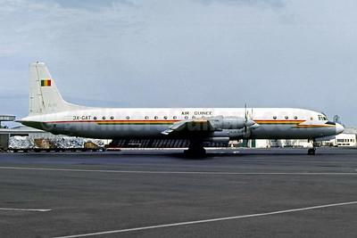 Air Guinée (1st) Ilyushin Il-18D 3X-GAT (msn 188010604) LBV (Jacques Guillem Collection). Image: 950707.