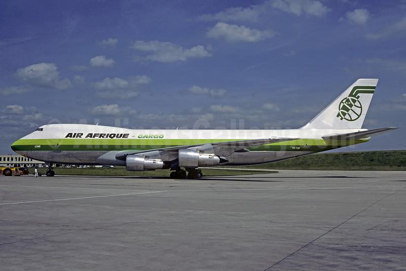 Air Afrique Boeing 747-2S4F TU-TAP TU-TAP (msn 22169) CDG (Christian Volpati). Image: 906956.