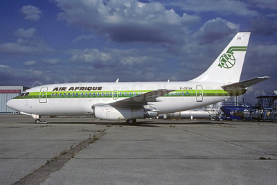 Air Afrique Boeing 737-242C F-GFVK (msn 19848) ORY (Jacques Guillem). Image: 921642.