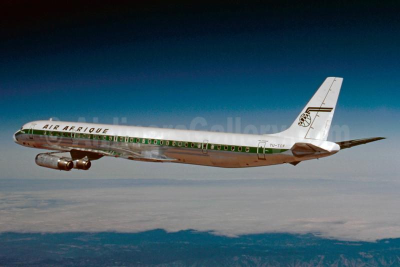 Air Afrique McDonnell Douglas DC-8-63CF TU-TCF (msn 46135) (Stephen Tornblom Collection). Image: 921827.
