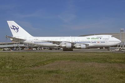 Air Afrique - Air Atlanta Icelandic Boeing 747-128 TF-ABQ (msn 20543) (Air Atlanta Icelandic colors) CDG (Christian Volpati Collection). Image: 944697.