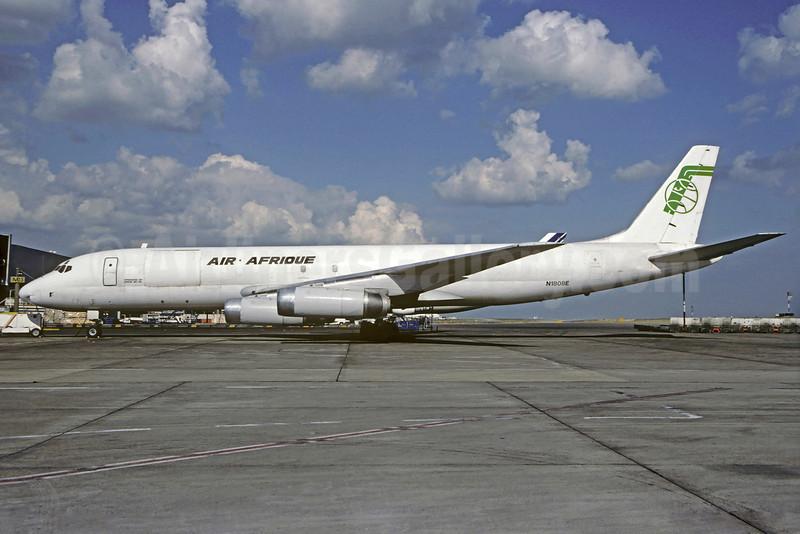 Air Afrique McDonnell Douglas DC-8-62 (F) N1808E (msn 46105) CDG (Christian Volpati). Image: 921645.