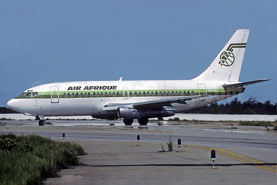 Air Afrique Boeing 737-2Q5C TN-AEE (msn 21538) ABJ (Jacques Guillem Collection). Image: 921643.