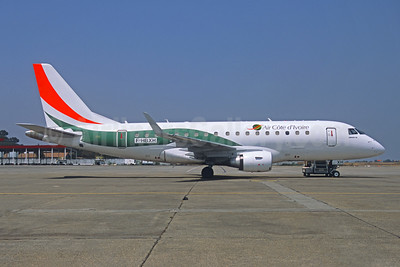 Air Côte d'Ivoire Embraer ERJ 170-100STD F-HBXH (msn 17000307) CKY (Jacques Guillem Collection). Image: 945973.