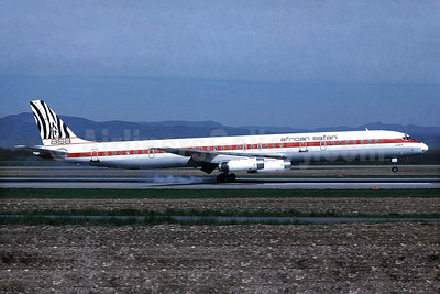 African Safari Airways-ASA McDonnell Douglas DC-8-63 5Y-ZEB (msn 46122) BSL (Paul Bannwarth). Image: 933767.