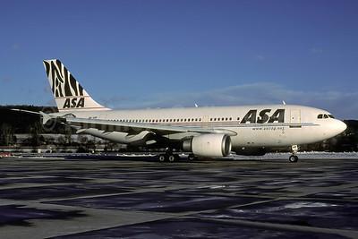 ASA (African Safari Airways) Airbus A310-308 5Y-VIP (msn 620) ZRH (Rolf Wallner). Image: 935192.