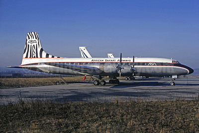 African Safari Airways-ASA Bristol 175 Britannia 313 5Y-ALT (msn 13431) BSL (Christian Volpati Collection). Image: 933770.