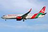 Kenya Airways Boeing 737-8AL WL 5Y-KYA (msn 35069) LHR (Antony J. Best). Image: 900554.