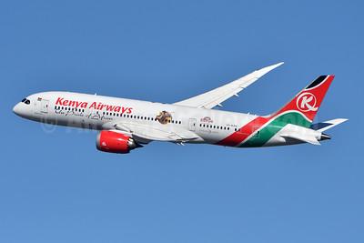 """Kenya Airways' """"Magical Kenya"""" special livery"""