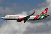 Kenya Airways Boeing 737-86N WL 5Y-KYD (msn 35632) LHR (David Apps). Image: 900555.
