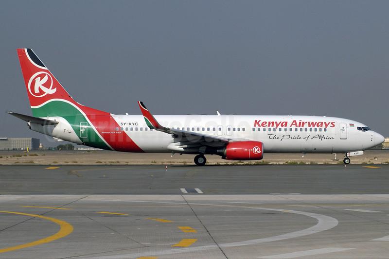 Kenya Airways Boeing 737-8AL WL 5Y-KYC (msn 35071) DXB (Jay Selman). Image: 402042.