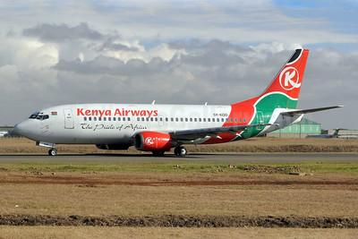 Kenya Airways Boeing 737-3U8 5Y-KQD (msn 29750) NBO (Robbie Shaw). Image: 909004.
