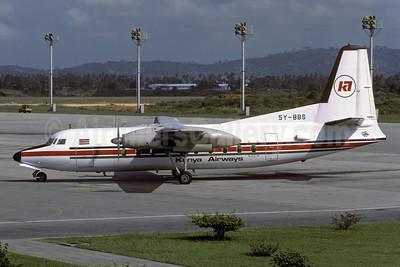 Kenya Airways Fokker F.27 Mk. 200 Friendship 5Y-BBS (msn 10213) MBA (Rolf Wallner). Image: 913095.