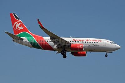 Kenya Airways Boeing 737-76N WL 5Y-KQE (msn 30133) JNB (Paul Denton). Image: 913949.