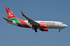 Kenya Airways Boeing 737-76N WL 5Y-KQE (msn 30133) JNB (Paul Denton). Image: 913949.
