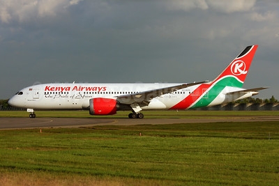 Kenya Airways Boeing 787-8 Dreamliner 5Y-KZC (msn 36040) LHR. Image: 925995.
