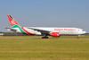Kenya Airways Boeing 777-2U8 ER 5Y-KQS (msn 33683) AMS (Karl Cornil). Image: 920499.