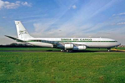 Simba Air Cargo (Kenya) Boeing 707-336C 5Y-SIM (msn 20517) SEN (Keith Burton). Image: 951890.