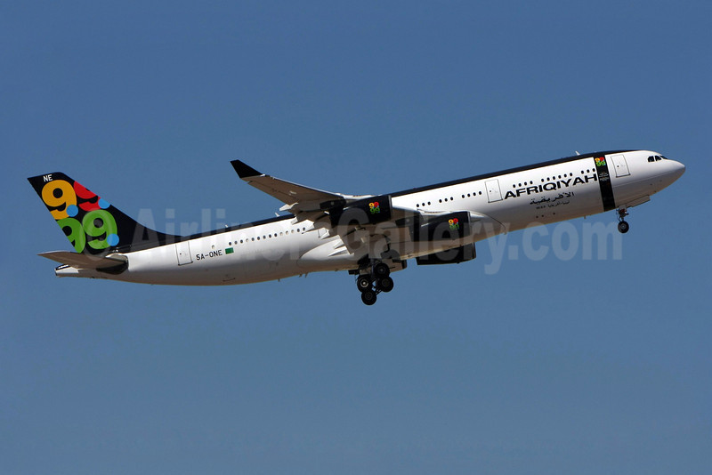 Afriqiyah Airways Airbus A340-213 5A-ONE (msn 151) LIS (Pedro Baptista). Image: 903643.