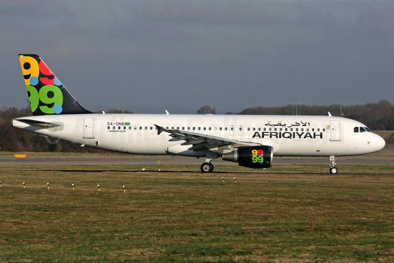 Afriqiyah Airways Airbus A320-214 5A-ONB (msn 3236) LGW (Antony J. Best). Image: 902886.