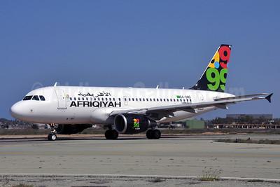Afriqiyah Airways Airbus A319-111 5A-OND (msn 3657) MJI (Richard Vandervord). Image: 903828.