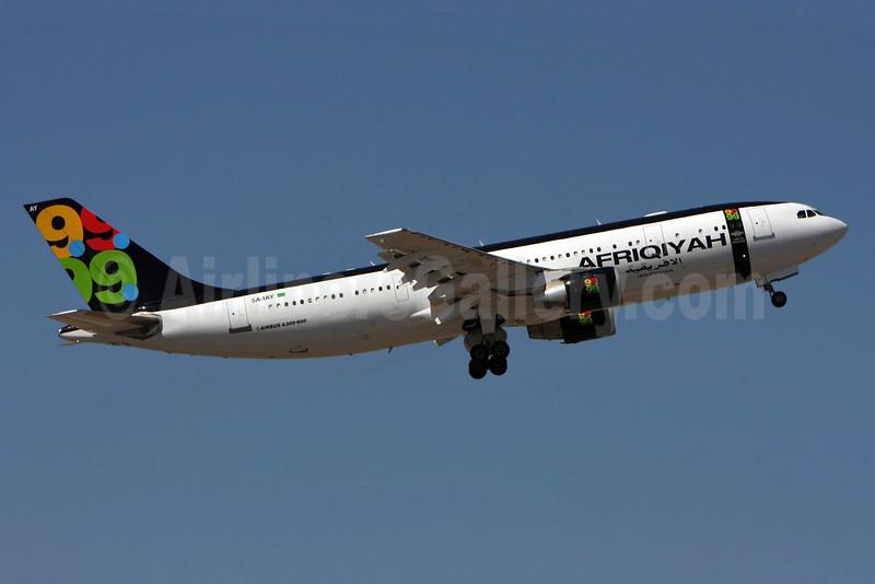 Afriqiyah Airways Airbus A300B4-620 5A-IAY (msn 354) LIS (Pedro Baptista). Image: 903642.