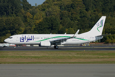 Buraq Air Boeing 737-8GK WL 5A-DMG (msn 34948) BFI (Joe G. Walker). Image: 913608.