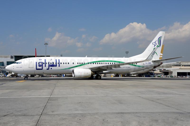 Buraq Air Boeing 737-8GK WL 5A-DMH (msn 34949) IST (Ton Jochems). Image: 913609.