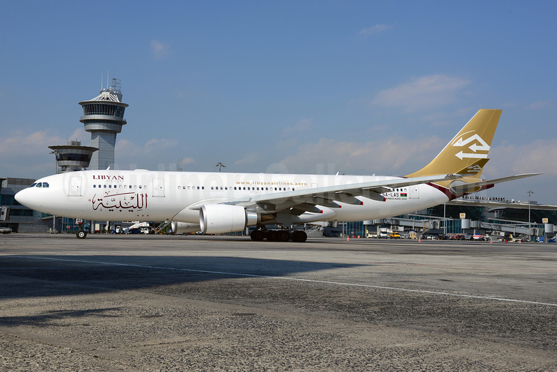 Libyan Airlines Airbus A330-202 5A-LAS (msn 1424) IST (Ton Jochems). Image: 913654.