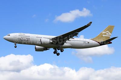 Libyan Airlines Airbus A330-202 F-WWCK (5A-LAR) (msn 1412) TLS (Eurospot). Image: 911890.