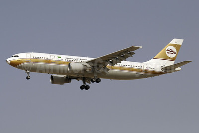 Libyan Arab Airlines (Libyan Airlines) Airbus A300B4-622R SU-GAX (msn 601) DXB (Paul Denton). Image: 913656.