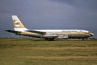 Libyan Arab Airlines (Libyan Airlines) (MEA) Boeing 720-023B OD-AFW (msn 18026) ORY (Christian Volpati). Image: 930703.