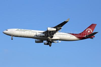 Air Madagascar Airbus A340-313 5R-EAA (msn 319) BKK (Michael B. Ing). Image: 910289.