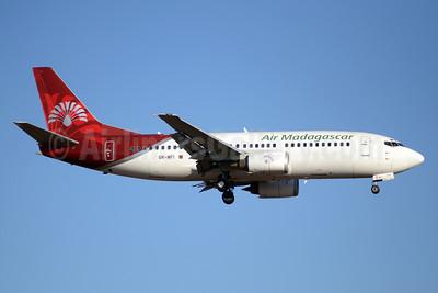 Air Madagascar Boeing 737-3Q8 5R-MFI (msn 26301) JNB (TMK Photography). Image: 913305.