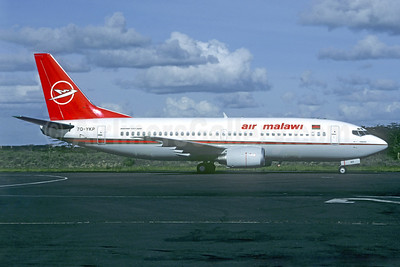 Air Malawi Boeing 737-33A 7Q-YKP (msn 25056) NBO (Christian Volpati Collection). Image: 940099.