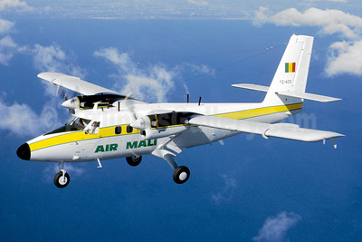 Air Mali (1st) de Havilland Canada DHC-6-300 Twin Otter TZ-ACD (msn 381) (Jacques Guillem Collection). Image: 941500.