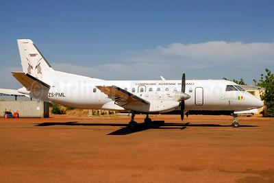 Compagnie Aerienne du Mali (Norse Air) SAAB 340A ZS-PML (msn 034) BKO (Jacques Guillem). Image: 945456.