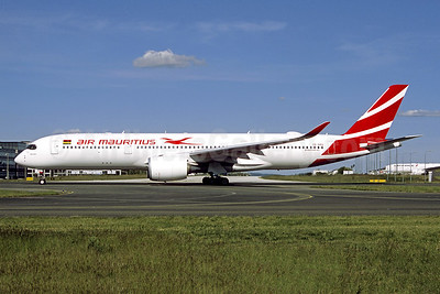 """Pieter Both"", the second Air Mauritius Airbus A350-900"