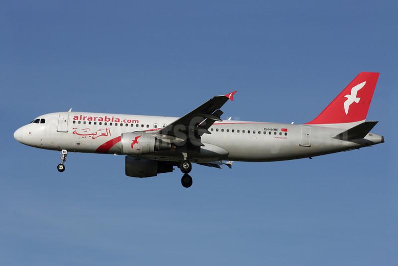 Air Arabia Maroc (airarabia.com) Airbus A320-214 CN-NME (msn 2166) LGW (Antony J. Best). Image: 909860.