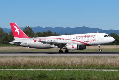Air Arabia Maroc (airarabia.com) Airbus A320-214 CN-NMB (msn 3833) BSL (Paul Bannwarth). Image: 924066.