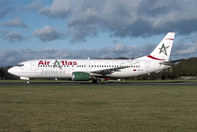 "Airline Color Scheme - Introduced 2002 - ""City of Agadir"""