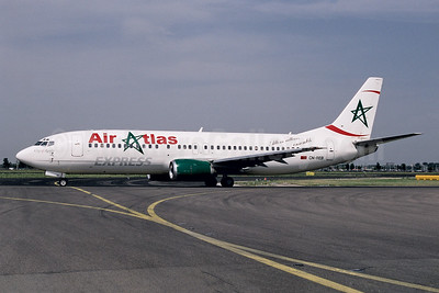 Air Atlas Express Boeing 737-4Y0 CN-REB (msn 24511) AMS (Ton Jochems). Image: 954086.
