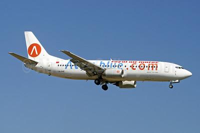 Atlas-blue.com Boeing 737-4B6 CN-RMF (msn 24807) LGW (Paul Denton). Image: 947336.