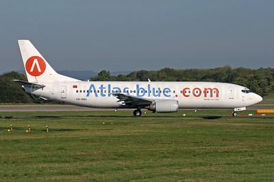 Atlas-blue.com Boeing 737-4B6 CN-RMX (msn 26526) LGW (Antony J. Best). Image: 902912.