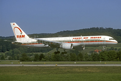 Royal Air Maroc-RAM Boeing 757-2B6 CN-RMT (msn 23686) ZRH (Christian Volpati Collection). Image: 937470.