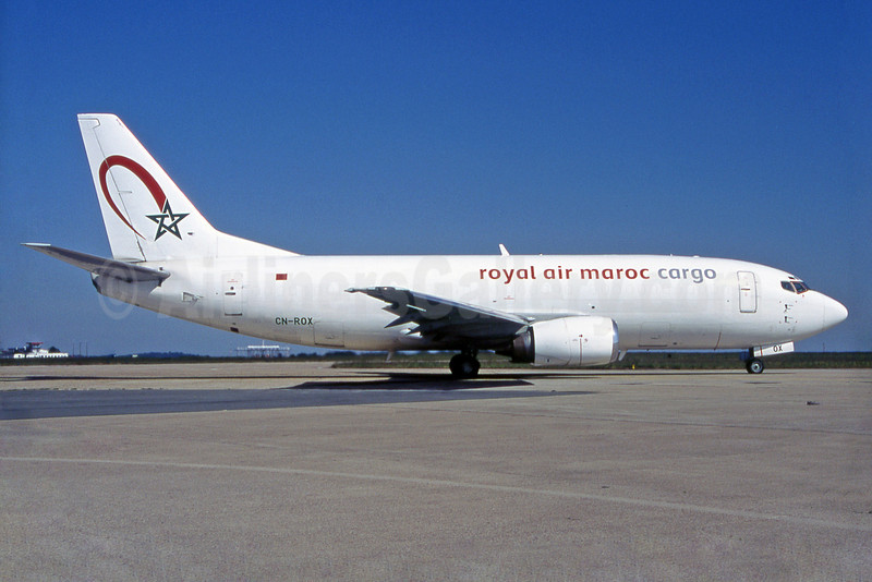 Royal Air Maroc Cargo Boeing 737-3M8F CN-ROX (msn 24020) ORY (Pepscl). Image: 905066.