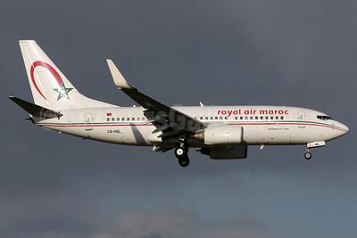 Royal Air Maroc Boeing 737-7B6 WL CN-RNL (msn 28982) LGW (Antony J. Best). Image: 904458.